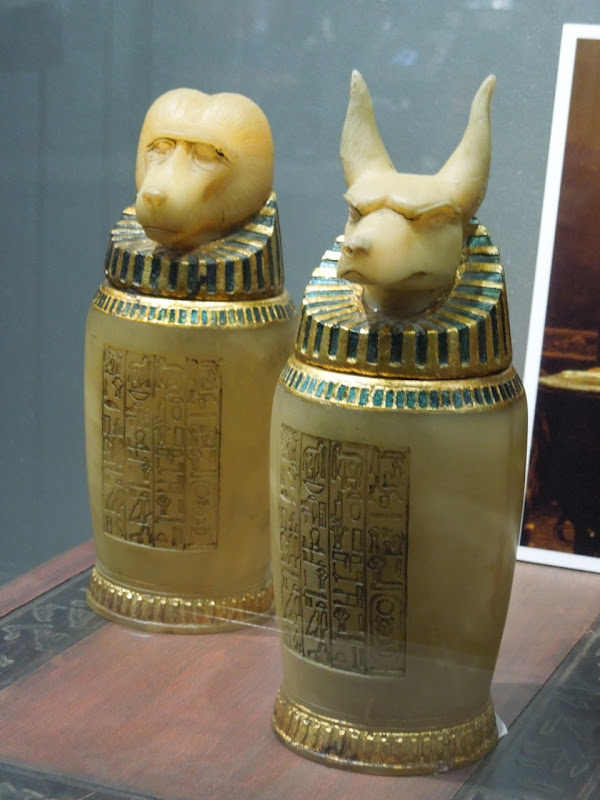 Mummy Canopic Jars movie props