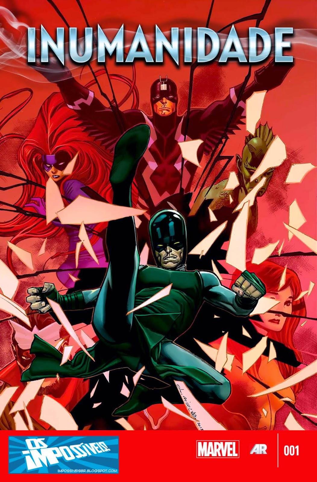 Nova Marvel! Inumanidade #1