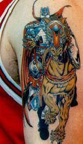 πολεμιστη τατουαζ για το στηθος,βιβκινγς πολεμιστης trelatatoo
