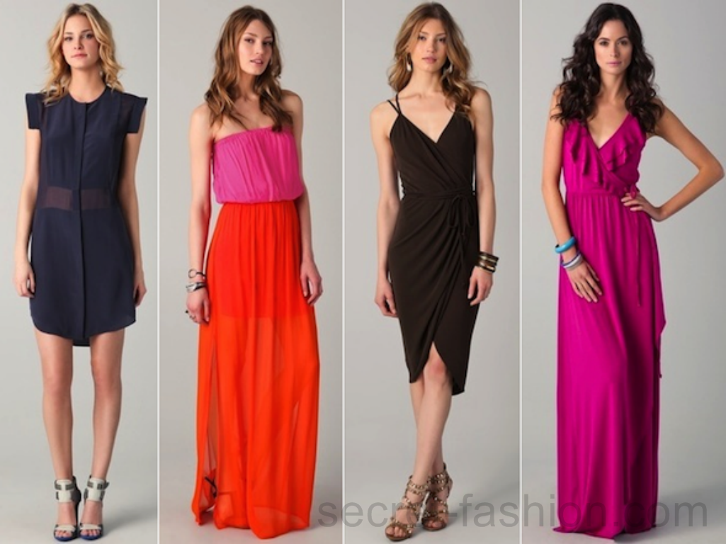 Verstyle Web: Day and Night Dresses Collection