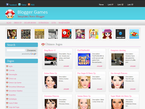 Blogger Games Blogger Theme