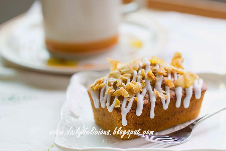 Dailydelicious brown sugar banana cake - Banana cake decoration ...