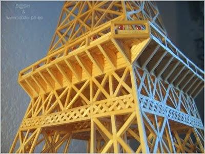 Cara Membuat Menara Eifel dari Korek Api   Cara Membuat ...