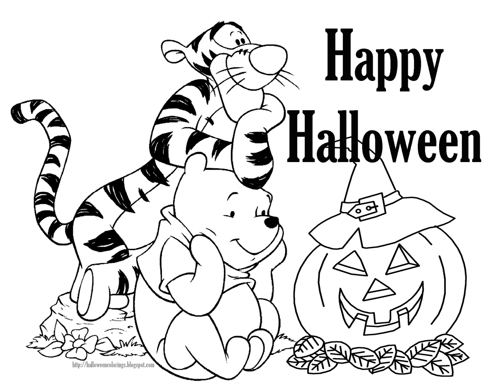 Halloween coloring pages free printable minnesota miranda for Halloween print out coloring pages