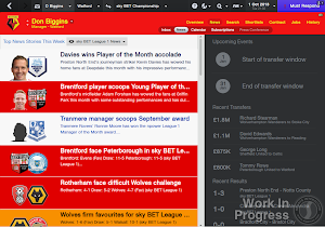 Football Manager 2014 news system revamped