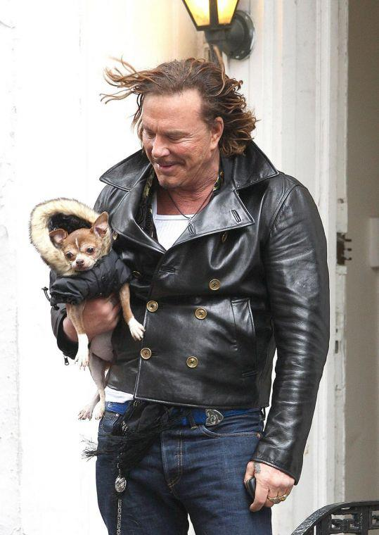 mickey rourke before and after