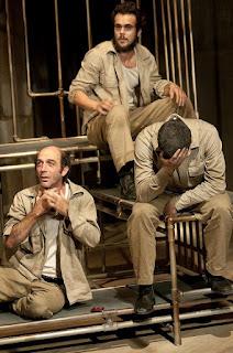 Em cena, Éber Inácio, Bruno Ferrari e Alexandre Mofati.