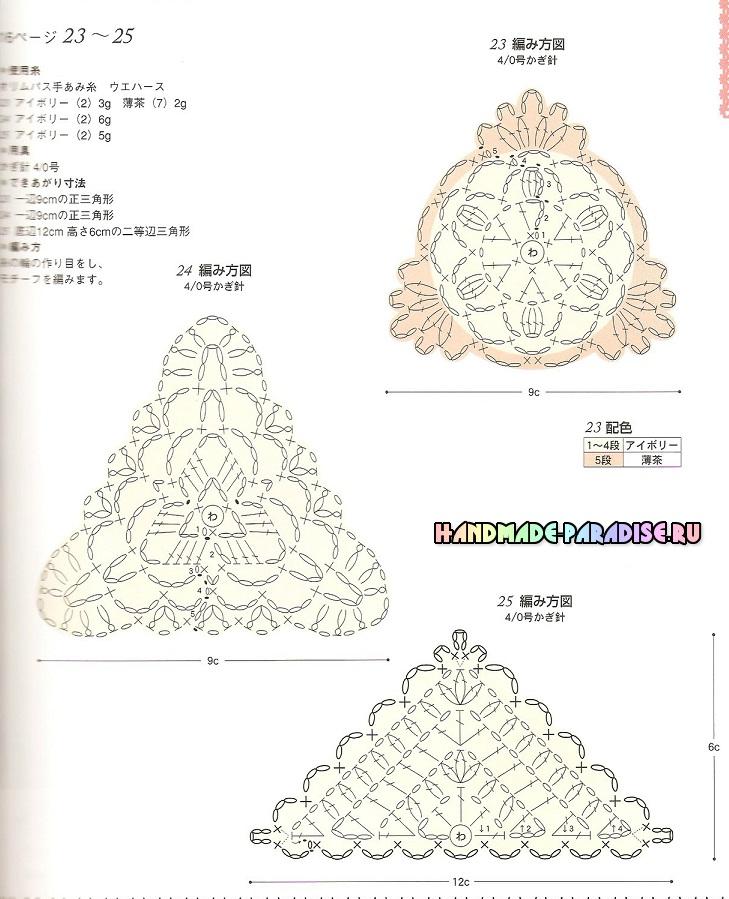 Вязание крючком. Журнал со схемами