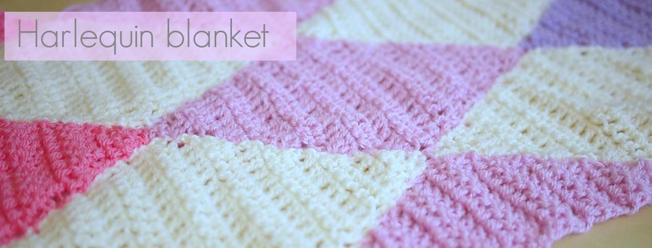 Harlequin Blanket Pattern Bella Coco By Sarah Jayne