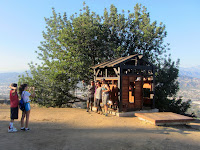 Griffith Park Teahouse near Mount Bell, July 24, 2015
