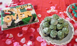 Vicky's Camo Groom's with Camo Cupcakes