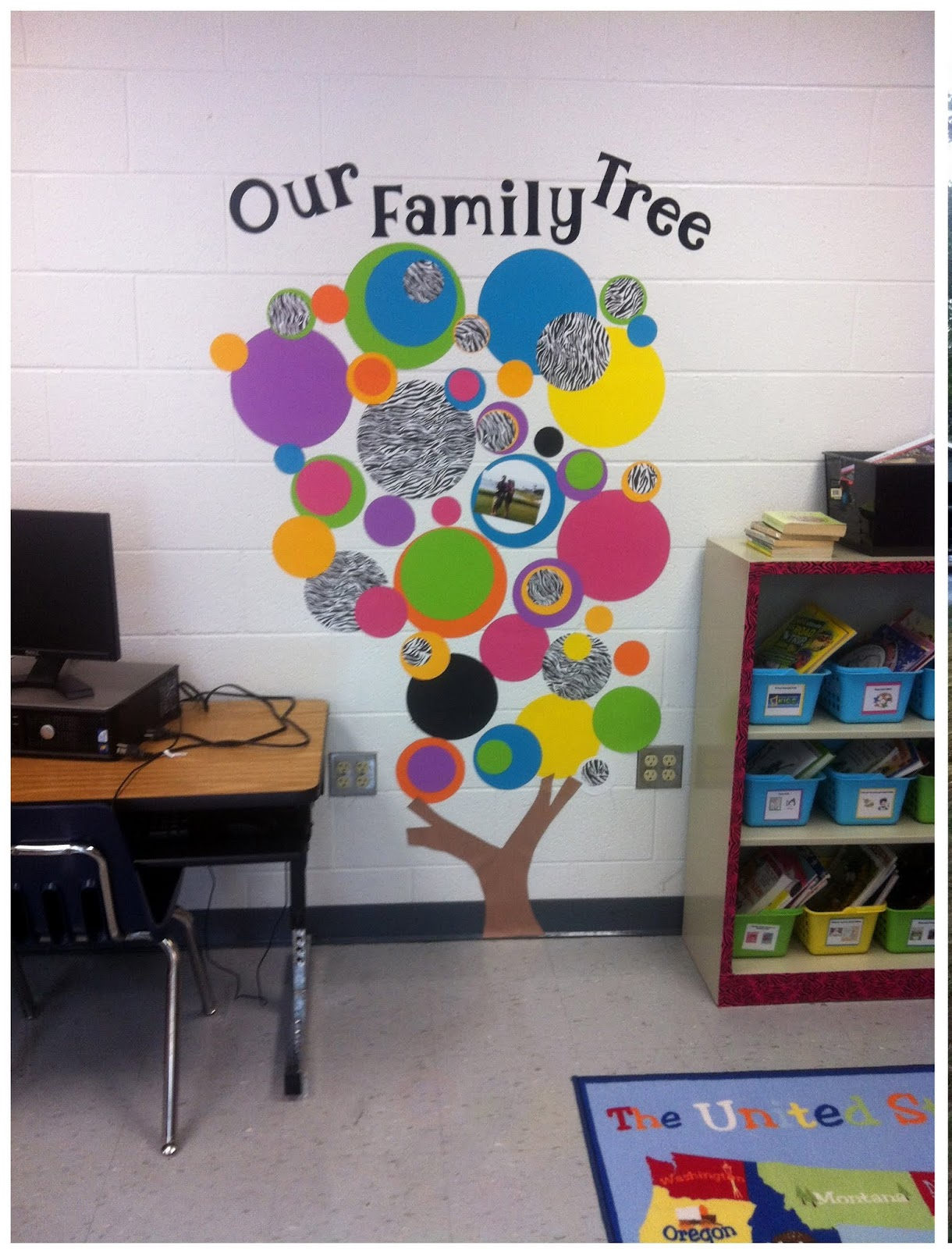 Classroom Tree Ideas ~ Everyday giggles monday make it family tree for classroom