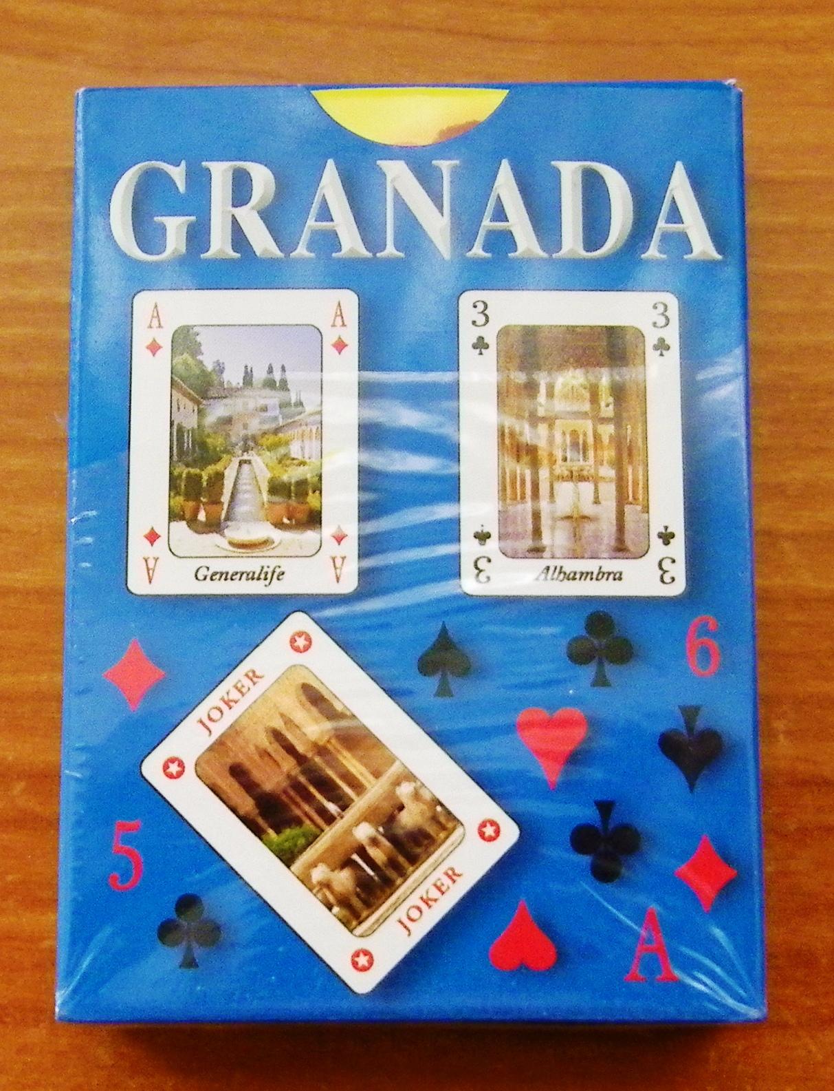 Mis aficiones y algo mas baraja de cartas de granada - Caja granada en madrid ...