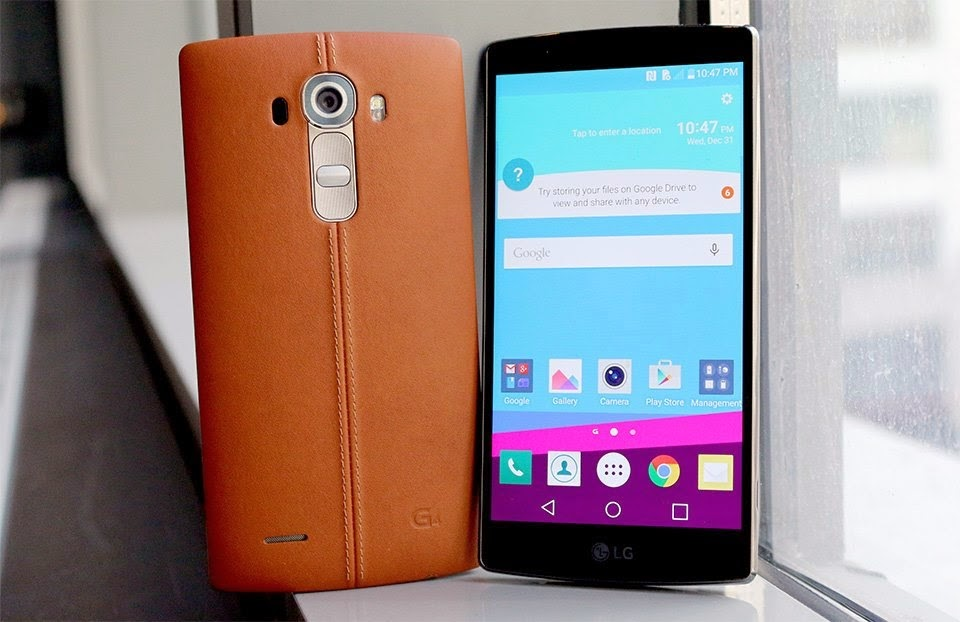the South Korean company LG, LG G4 phone, smartphone from LG, LG G4 smartphone,
