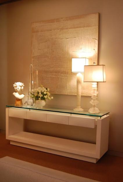Aparador Para Hall De Entrada Com Espelho ~ Construindo Minha Casa Clean 50 Hall de Entrada de Casas