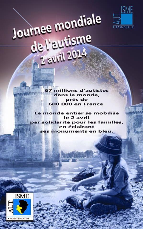 2 avril 2014 Journée mondiale de sensibilisation à l'autisme