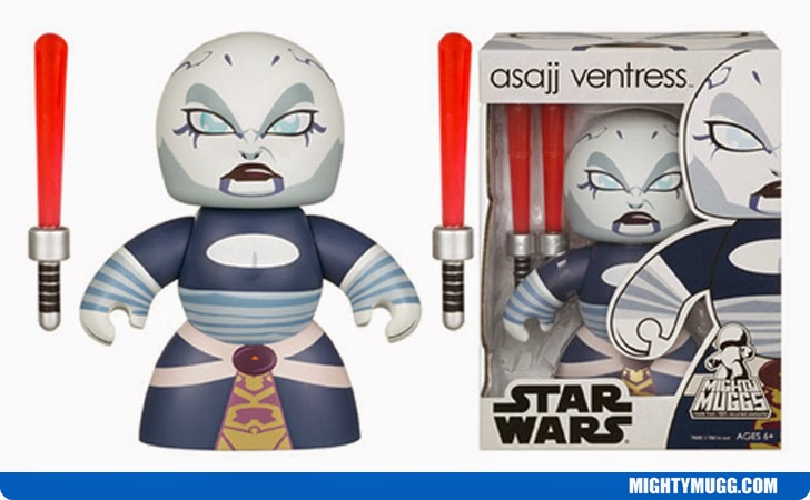 Asajj Ventress Star Wars Mighty Muggs Wave 5