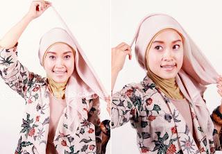Cantik dengan Jilbab Segitiga