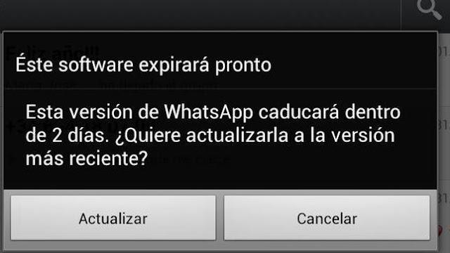 WhatsApp... ha llegado la hora de pagar