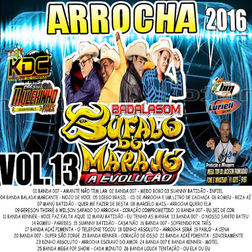 CD BADALASOM ARROCHA VOLUME 13