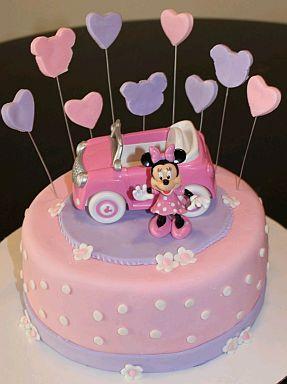 Espero Que Estas Tortas De Minnie Mouse  Te Hayan Gustado