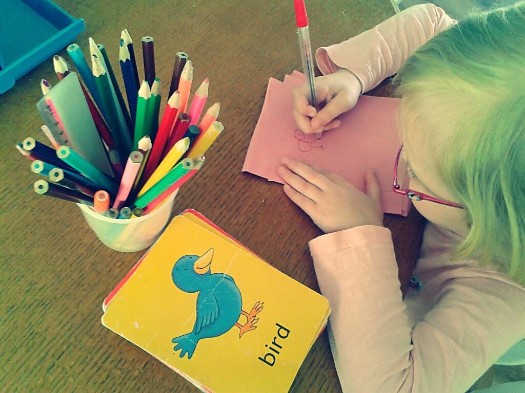 enseñar a escribir