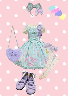 Angelic pretty lolita fashion kawaii mintyfrills