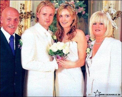 Westlife nicky byrne wedding