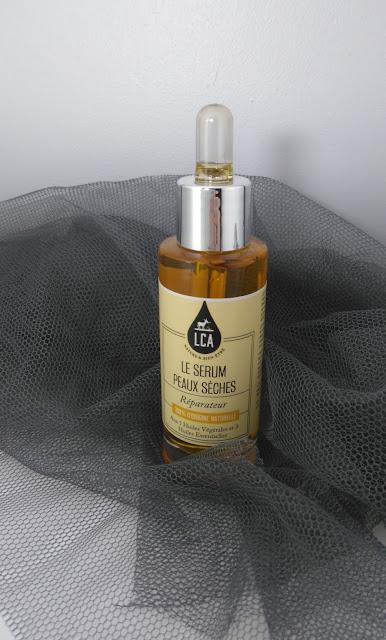sérum peaux sèches, sérum, LCA Aroma, bullelodie