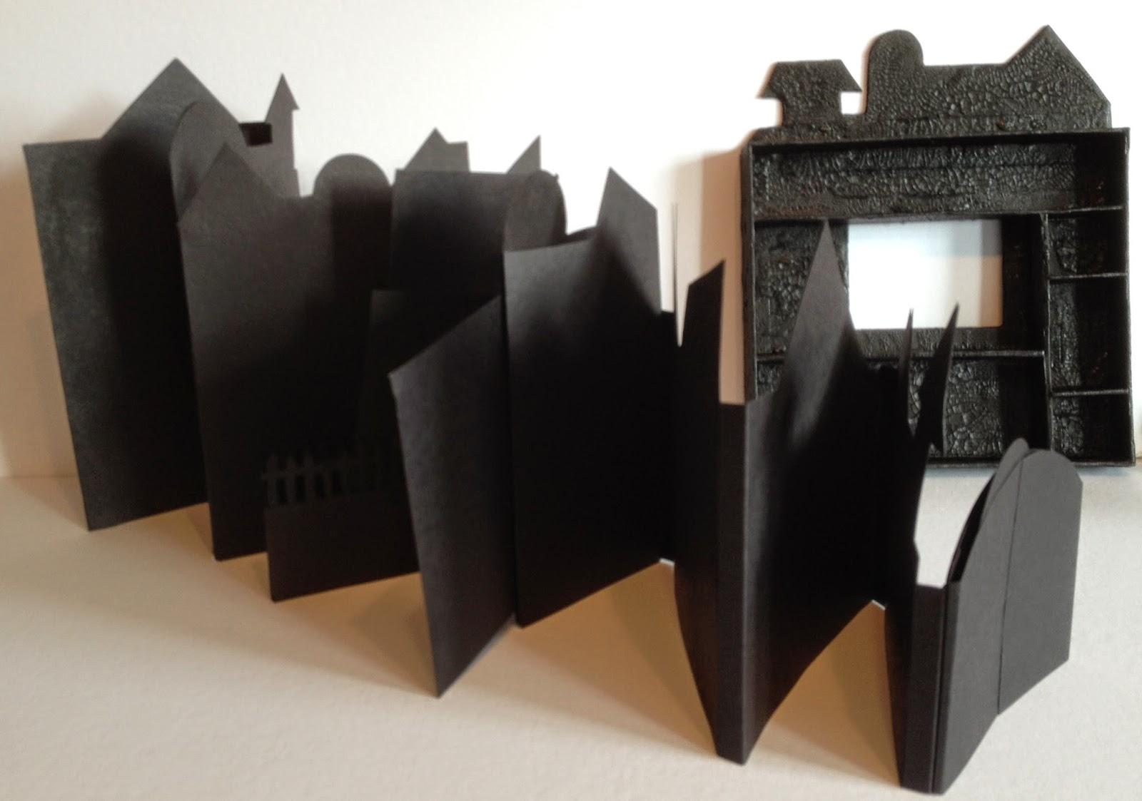 annes papercreations: recollections spooky castle halloween mini album