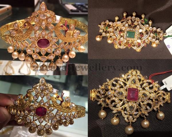 prem raj jewellers baju band designs jewellery designs