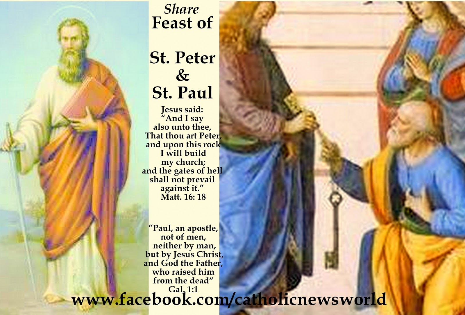 When the feast of Peter and Paul