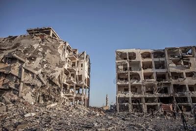Gambar Serangan Tentera Israel Di Gaza