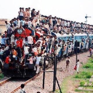 Comboio com lugar para mais um