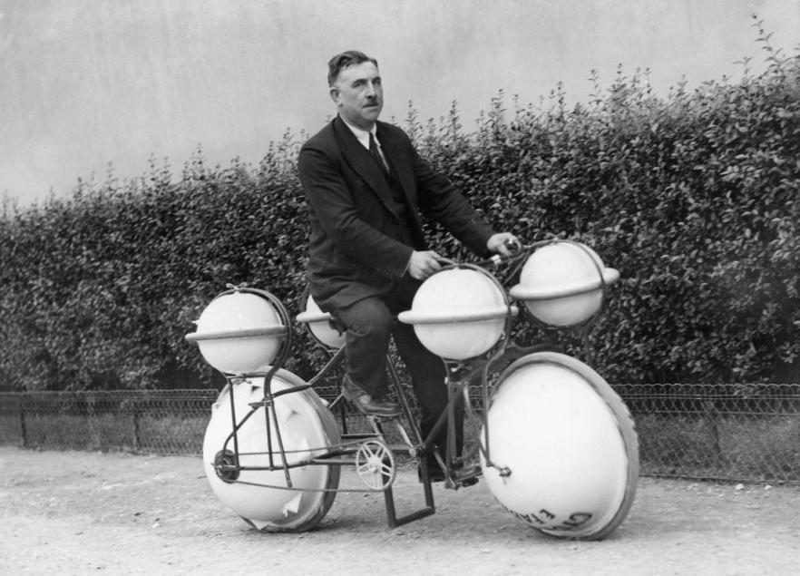 Sepeda Amfibi