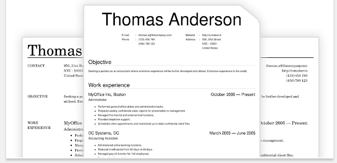how to create professional pdf and html resumes cvs and biodata