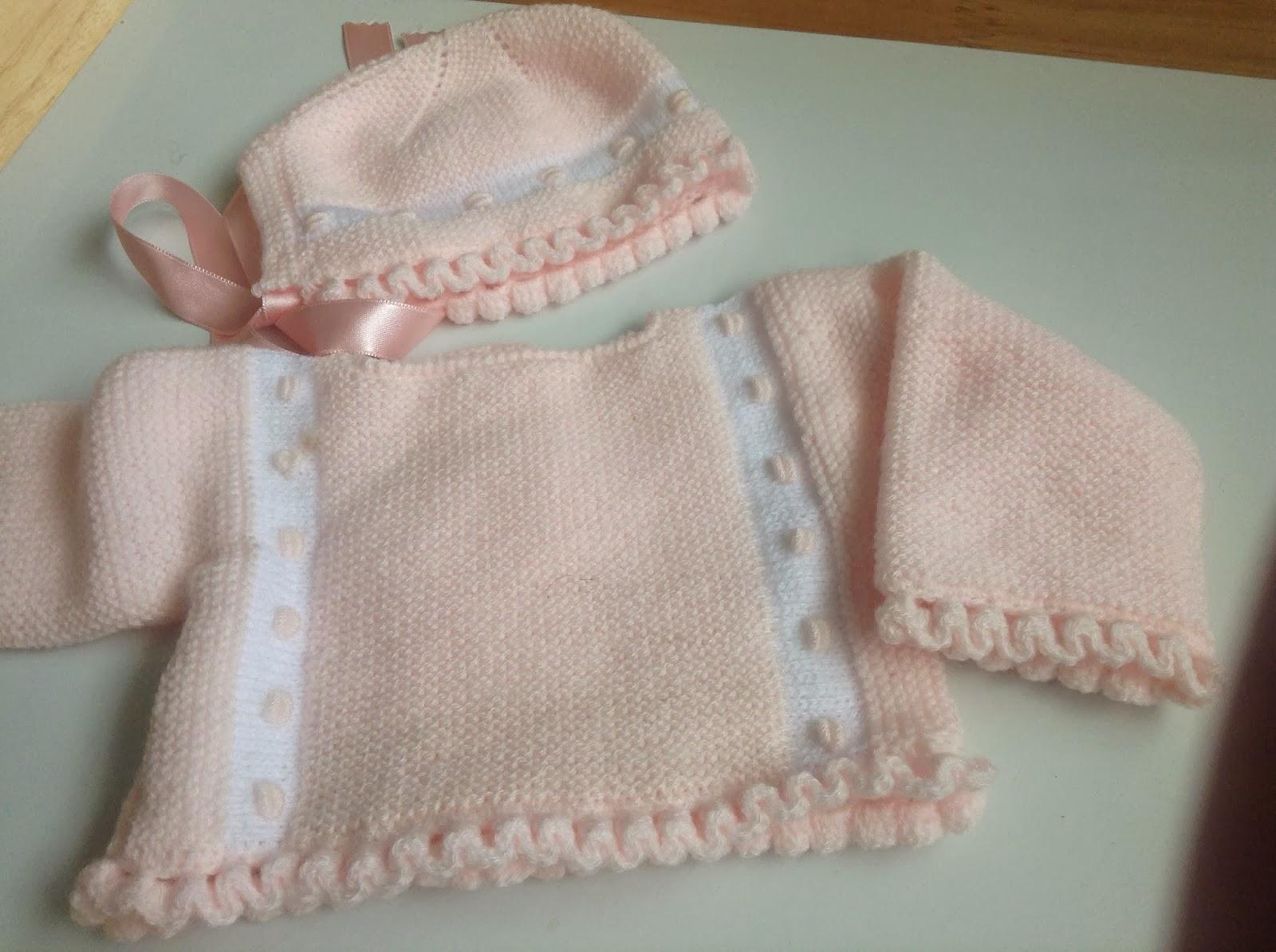 Mar a entre labores jerseys de beb - Puntos para calcetar ...
