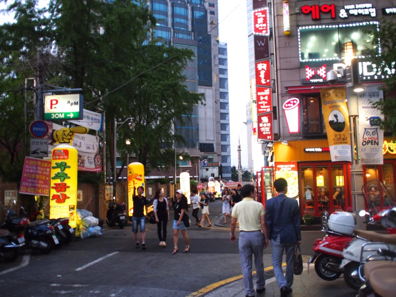 Ewha University Summer Studies Travel Seoul dongdaemun lunarrive singapore