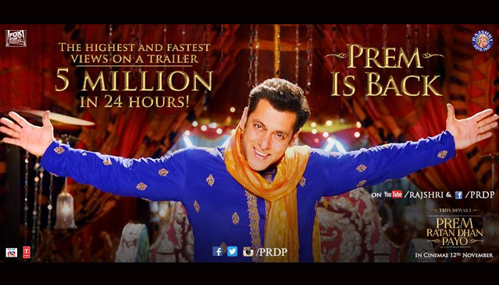 The India Satire Movie Preview Of Prem Ratan Dhan Payo By Mahesh
