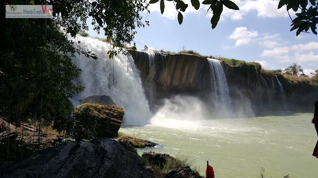 Tham quan thác Dray Nur ở Buôn Ma Thuột