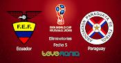 Ver Ecuador vs Paraguay en Vivo por CMD - Eliminatorias Rusia 2018