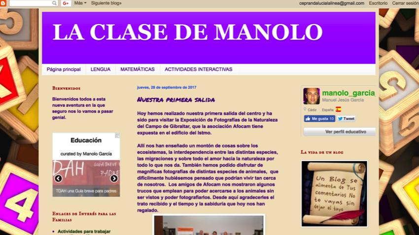 Blog del maestro Manolo
