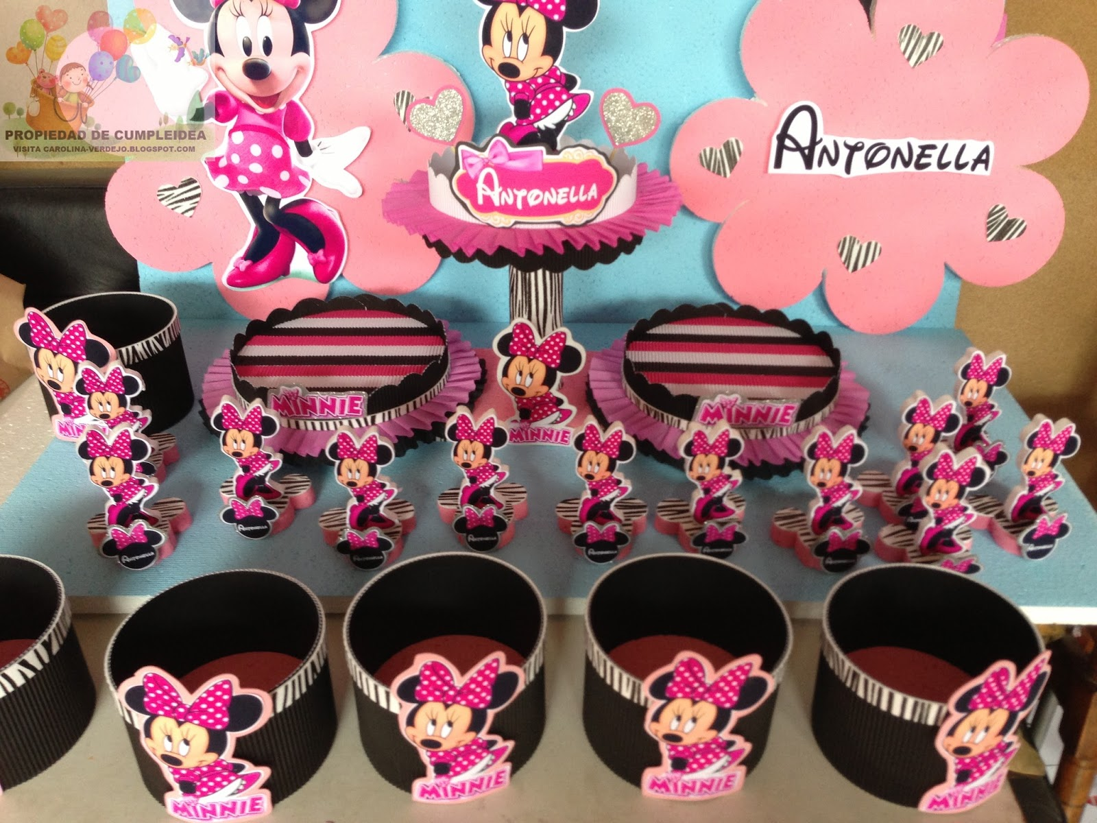 Decoracion Minnie Bebe ~ DECORACIONES INFANTILES minnie mouse