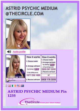 ASTRID PSYCHIC MEDIUM