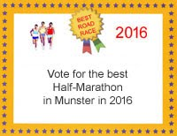 Poll for the best half-marathon in Munster in 2016
