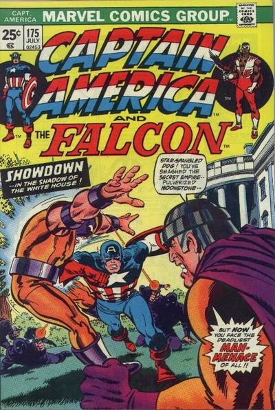 Captain America and the Falcon #175
