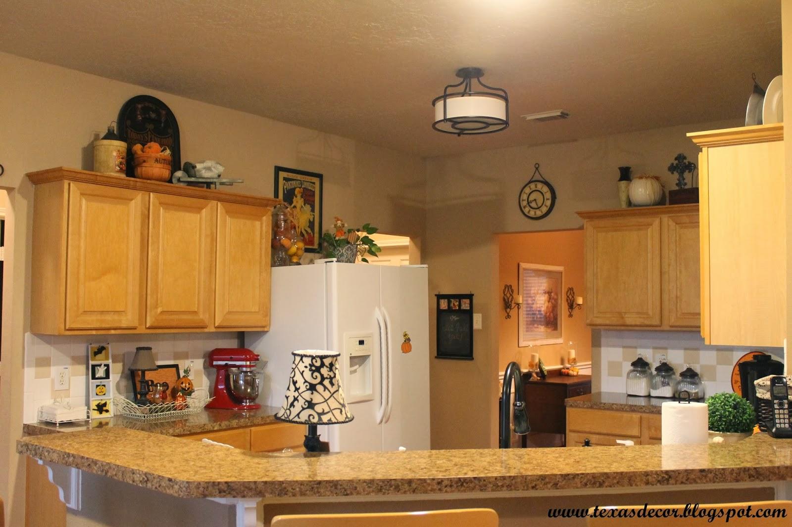Http Texasdecor Blogspot Com 2013 10 A New Kitchen Light Html