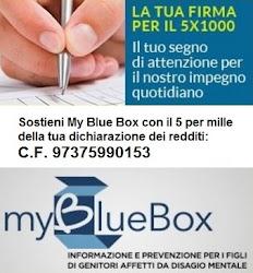 Il Tuo 5 Per Mille Per My Blue Box
