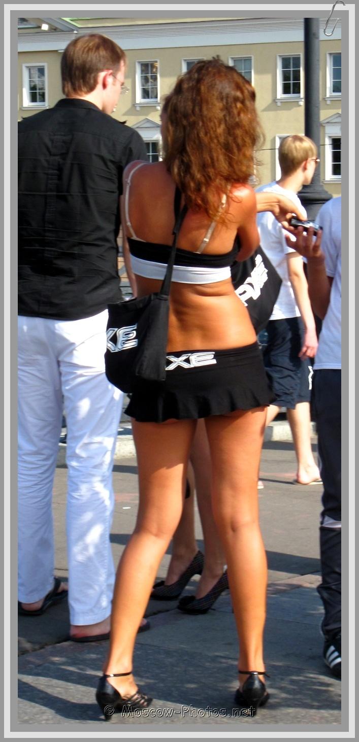 Moscow AXE Girl