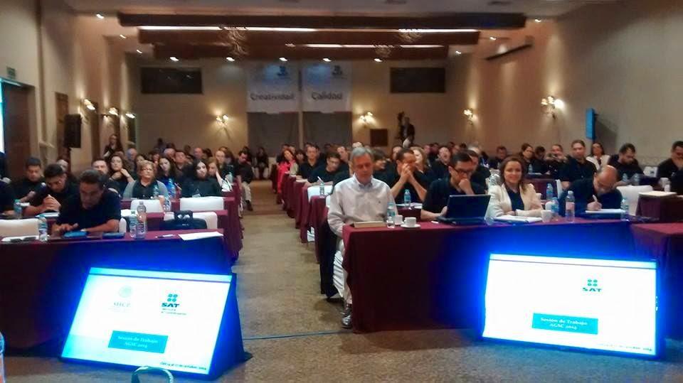 Reunión del Movimiento 17 de Marzo en Querétaro con el SAT